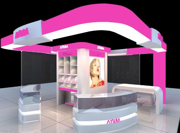 化妆品展览展示
